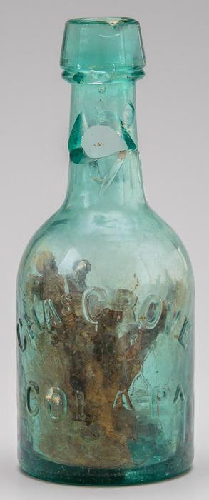 В Виргинии нашли «ведьмину» бутылку времён Гражданской войны